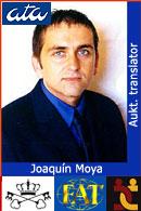 Joaquín Moya, aukt translator